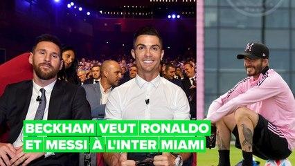David Beckham pourrait-il convaincre Ronaldo et Messi à jouer ensemble pour l'Inter Miami?