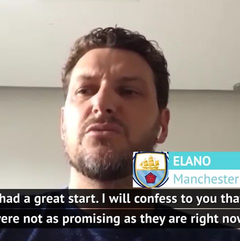 Manchester memories with former City forward Elano