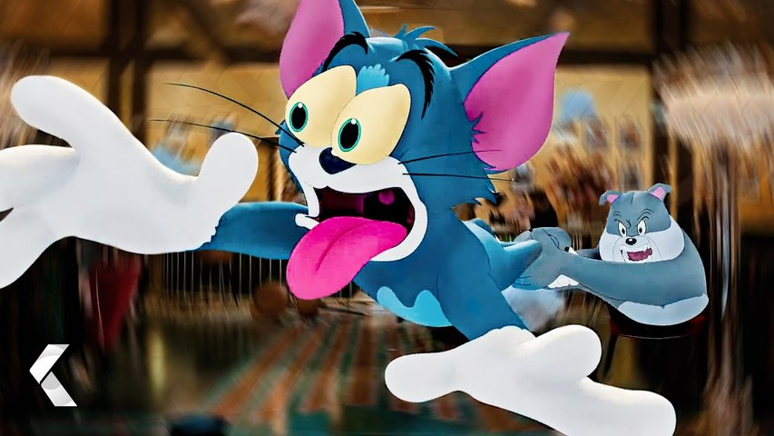 TOM AND JERRY Fight With Spike Clip & Trailer (2021)