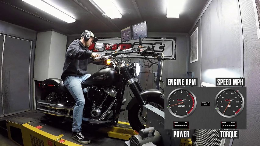 2021 Harley-Davidson Softail Slim Dyno