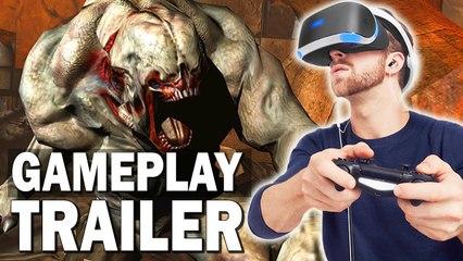DOOM 3 PS VR EDITION - TRAILER DE GAMEPLAY OFFICIEL