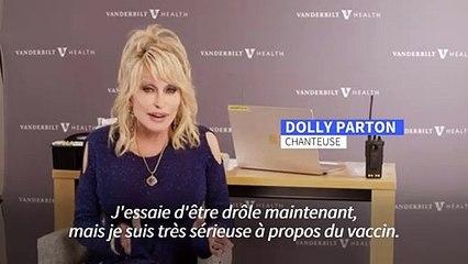 États-Unis : la chanteuse country Dolly Parton se fait vacciner