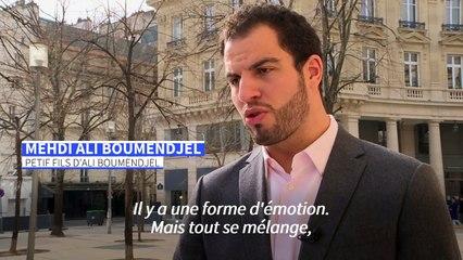 """Reconnaissance du crime d'Ali Boumendjel: son petit-fils salue une """"avancée"""" vers la vérité"""