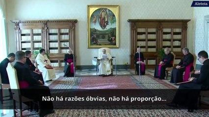 Catequese do Papa Francisco sobre a oração e a Trindade