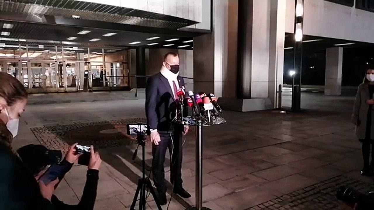 ZÁZNAM: Brífing predsedu NR SR B. Kollára po zasadnutí koaličnej rady