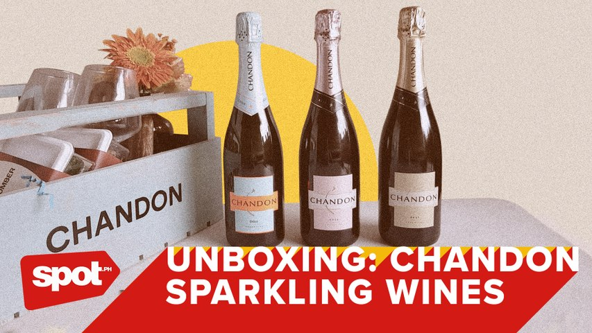 Unboxing Chandon Sparkling Wines