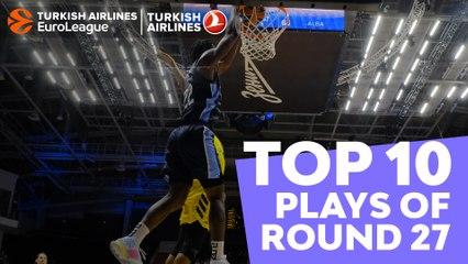 Turkish Airlines EuroLeague Regular Season Round 27 Top 10 Plays