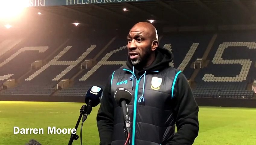 Sheffield Wednesday manager Darren Moore reflects on their 2-1 defeat to Rotherham United