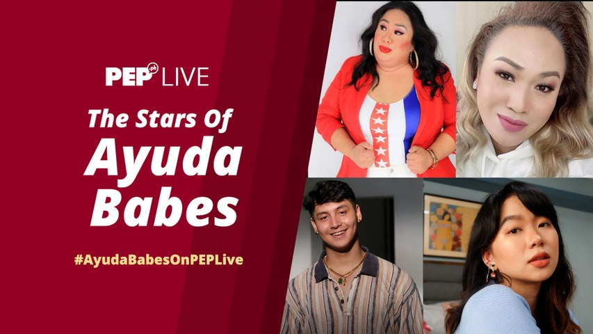 "WATCH: ""Ayuda Babes"" stars Negi, Petite Brockovich, Christy Fider, & Dan Delgado on PEP Live"