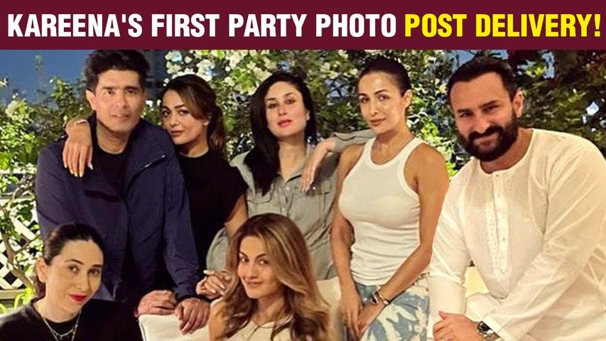 Kareena Kapoor- Saif Ali Khan House Party | Malaika Arora, Karan Johar, Karisma Kapoor