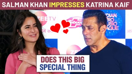 Salman Khan's Sweetest Gesture For Katrina Kaif | Does Something Very Special | Details Revealed