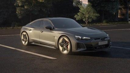 Audi RS e-tron GT - drive concept