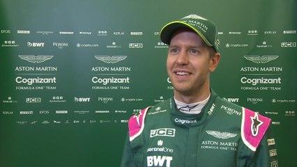 Aston Martin Cognizant Formula One™ Team AMR21 Car - Sebastian Vettel, Driver