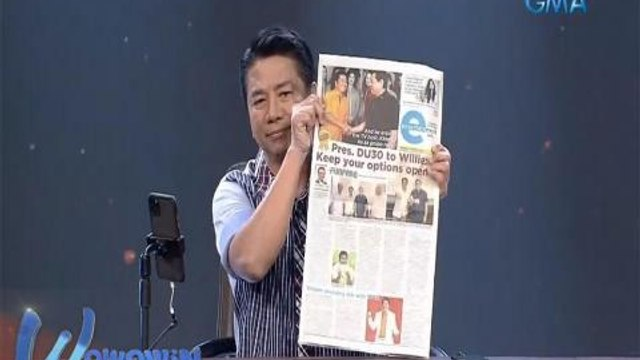 Wowowin: Ricky Lo at The Philippine Star, pinasalamatan ni Willie Revillame
