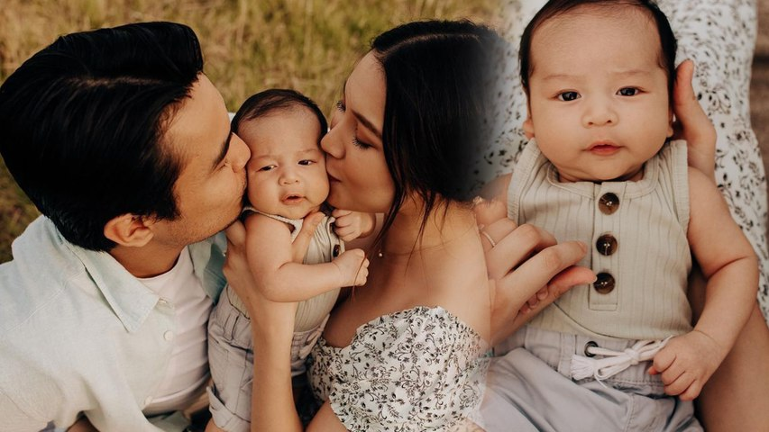 Comelnya baby boy Zahirah MacWilson dan Aiman -