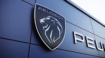 Le nouveau logo Peugeot adapté aux concessions