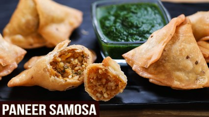 Crispy Paneer Samosa | MOTHER'S RECIPE | How To Make Samosa Chutney | Easy Samosa Recipe