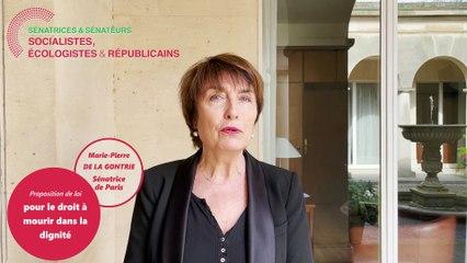 PPL pour le droit à mourir dans la dignité : le point ave Marie-Pierre de La Gontrie