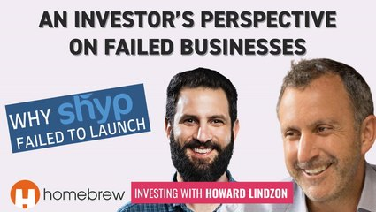 What a VC Investor Learned From Failed Companies | Investing for Profit and Joy