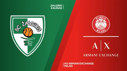 EuroLeague 2020-21 Highlights Regular Season Round 28 video: Zalgiris 64-69 Milan