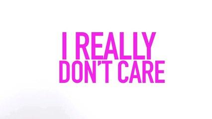 Demi Lovato - Really Don't Care