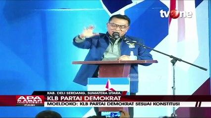 Moeldoko Berpidato, Sebut KLB Partai Demokrat Konstitusional
