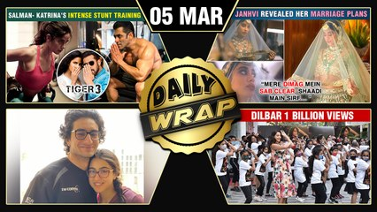 Janhvi On Wedding Plans, Salman Katrina's Action Scene, Nora's Dance With Kids On Dilbar|Top 10 News