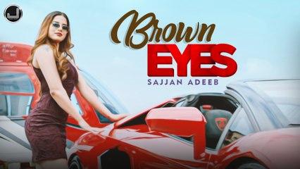 Brown Eyes   Sajjan Adeeb   Lyrical Video   New Punjabi Song 2021   Japas Music