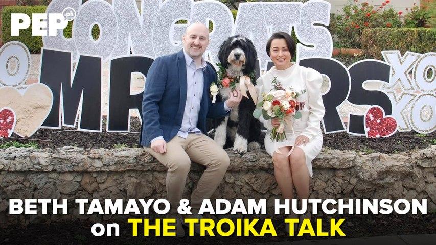 MAKI-TROiKA TALK NA! with PEP Troika and BETH TAMAYO & ADAM HUTCHINSON