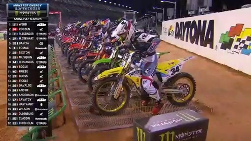 450SX Main Event AMA Supercross 2021 Daytona Beach