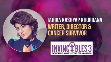 Women's Day Special: Tahira Kashyap Khurrana's story of self love and body positivity | Invincibles