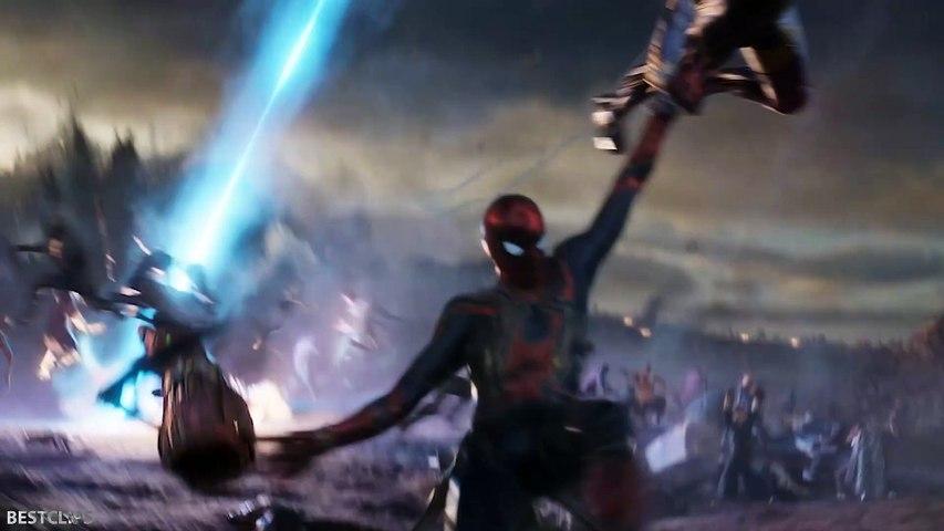 Captain America Helps Spider-Man Scene - AVENGERS 4 ENDGAME (2019)