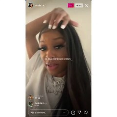 Kayla B tells Sukihana to meet her in the Atlanta streets, if she wants to fight, saying she's not doing a boxing match, after the two began beefing, over Sukihana clowning her King Von tattoo