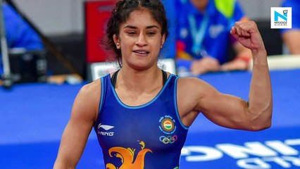 Vinesh Phogat clinches gold medal in Rome event