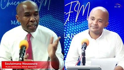 CHICONI FM TV - Avec Soulaimana Noussoura pour Plan Marshall pour Mayotte
