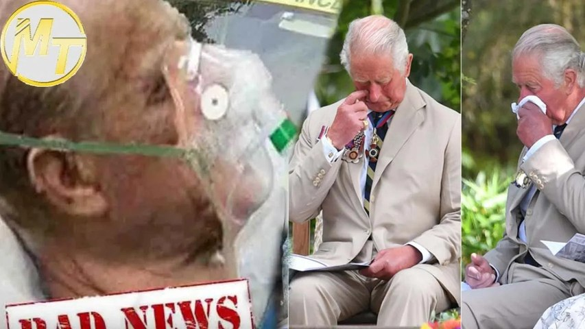 Charles secretly wipes his tears when it comes to tragic d-e-a-t-h of his father, Prince PHILIP