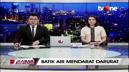 Pesawat Batik Air Mendarat Darurat, Kenapa?