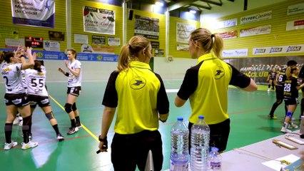"""Mathilde Duée et Clementine Leclercq, arbitres de handball, """"La compétence doit primer avant tout"""""""