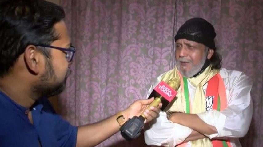Don't understand rajniti, I believe in manushya niti: Mithun Chakraborty