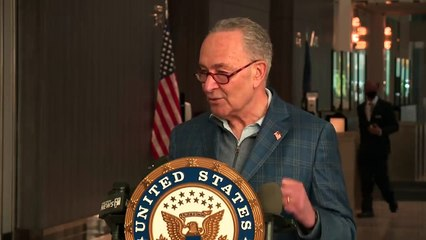 Chuck Schumer responds to latest allegations against Andrew Cuomo