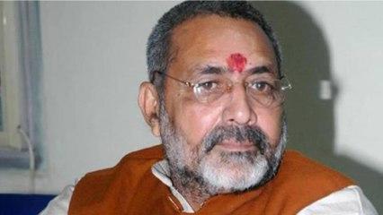 Nitish angry with Giriraj's statement, BJP turns deaf ear