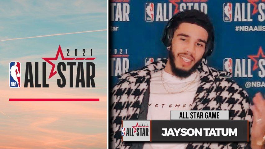 Jayson Tatum talks Jaylen Brown, teaming up with Bradley Beal | NBA All-Star Game