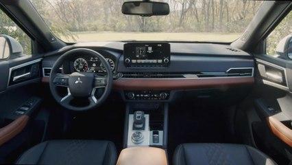 2022 Mitsubishi Outlander Interior Design
