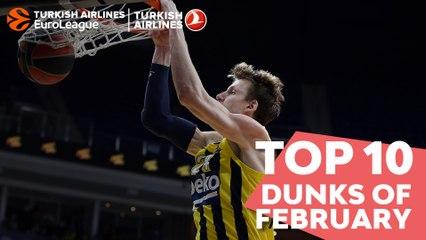 Top 10 Dunks of February!
