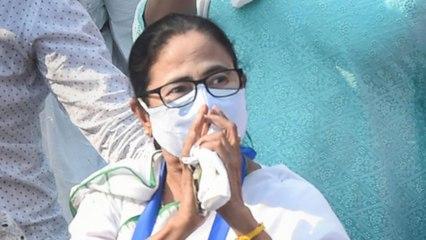 Kolkata: CM Mamata Banerjee holds foot march in Kolkata