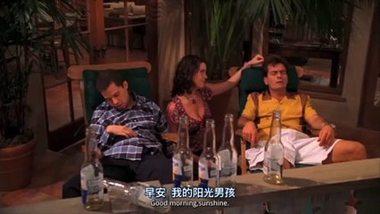 Taxicab confessions - Two and a Half Men S01E03 [HD]