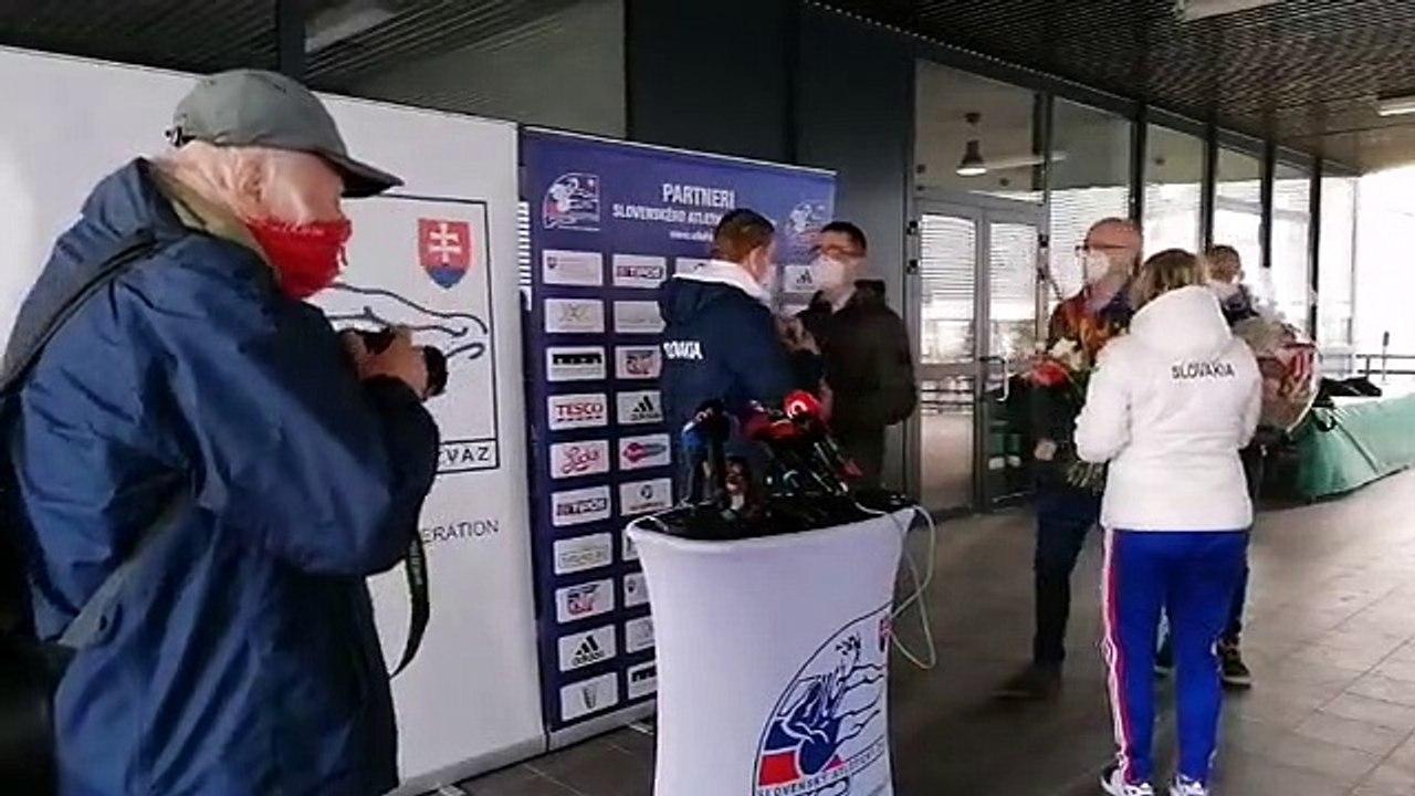 ZÁZNAM: Brífing slovenského šprintéra J. Volka