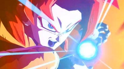 Dragon Ball FighterZ : Gogeta SSJ4 VS Gogeta Blue Gameplay Trailer