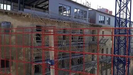 des appartements dans les murs de l'ancienne prison d'Avignon
