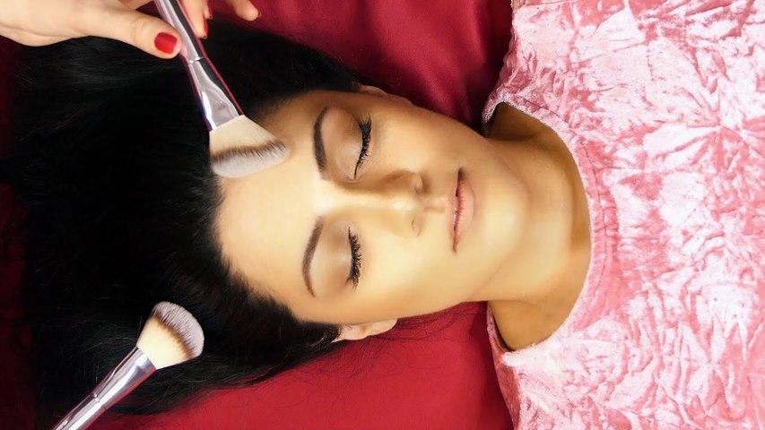 Beautiful ASMR Ultra Relaxing Face Brushing & Soft Whispers with Corrina Rachel